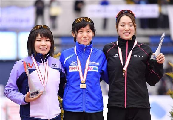 【平昌五輪スピードスケート日本代表選手選考競技会】 女子3000m (