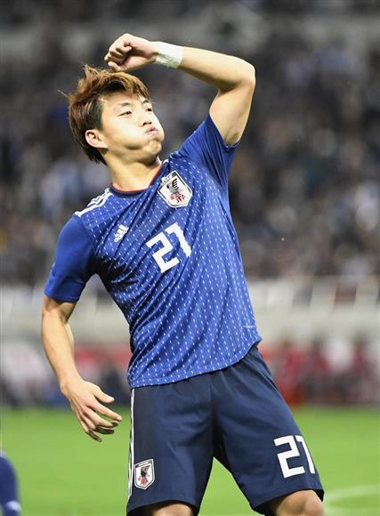 サッカー日本代表初ゴールの堂安...