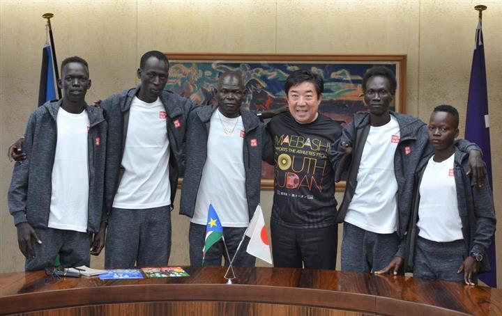 南 スーダン 前橋 東京2020オリンピック・パラリンピックを目指す南スーダン選手の長期...