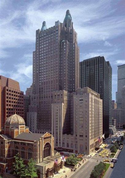 米ヒルトン・ワールドワイドが売却する「ウォルドーフ・アストリア・ニューヨーク」(ヒルトン提供・共同)