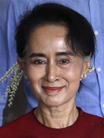 アウン・サン・スー・チー氏 アウン・サン・スー・チー氏 ニュースへ 注目まとめ PR ミャンマー