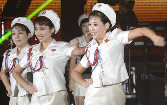 北朝鮮情勢 北のガールズ楽団「...
