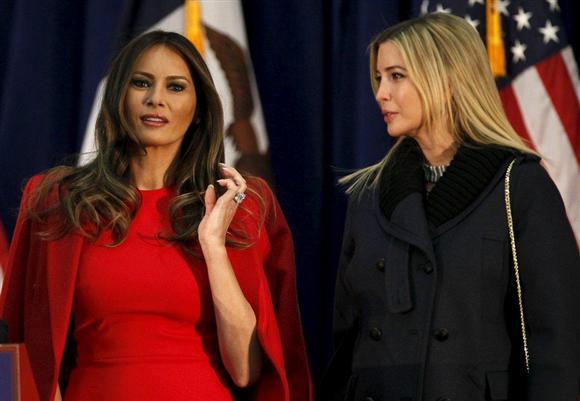 2月1日、米共和党の党員集会が開かれたアイオワ州... トランプ氏の「秘密兵器」は美人娘…モデル