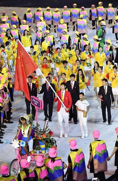 南米初のリオ五輪が盛大に開幕 2...