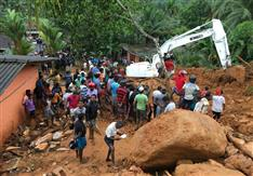 スリランカで豪雨 91人死亡、110人不明