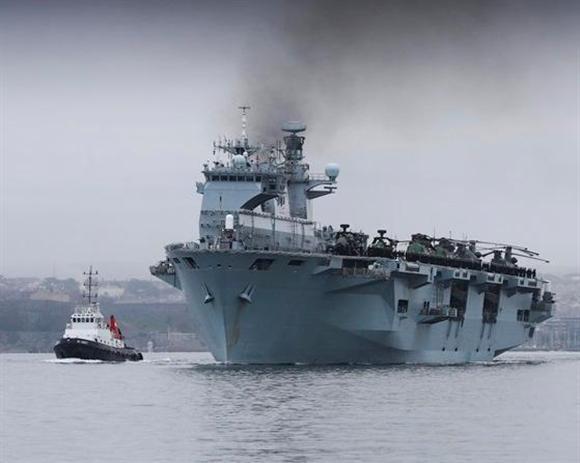 斜陽の英国海軍、栄光の艦隊どこ...