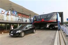 中国発「夢の技術」は詐欺だった 世間の度肝を抜いた「道をまたぐバス」の顛末とは