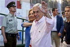 チリ大統領にピニェラ氏 中道右派前職返り咲き