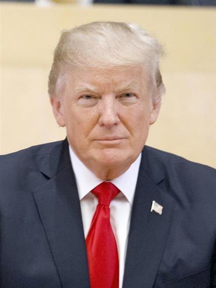 トランプ米大統領(AP=共同)
