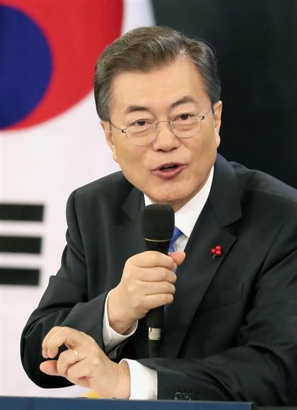 北朝鮮問題は文在寅・韓国大統領の動きにかかっている(聯合=共同)