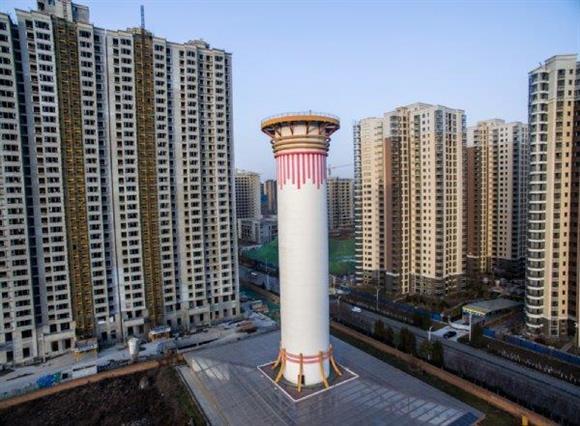 中国西安市で世界最大の空気清浄タワーが稼働 その効果は:イザ!