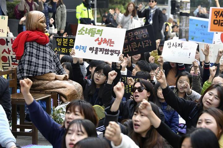 慰安婦訴訟の初弁論 「主権免除」の原則で日本政府は欠席 ソウル中央 ...
